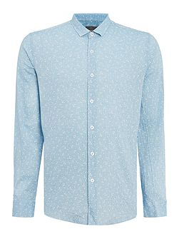 Birtwell Fine Stripe Printed Shirt