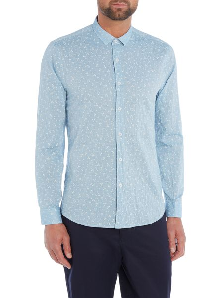 Peter Werth Birtwell Fine Stripe Printed Shirt