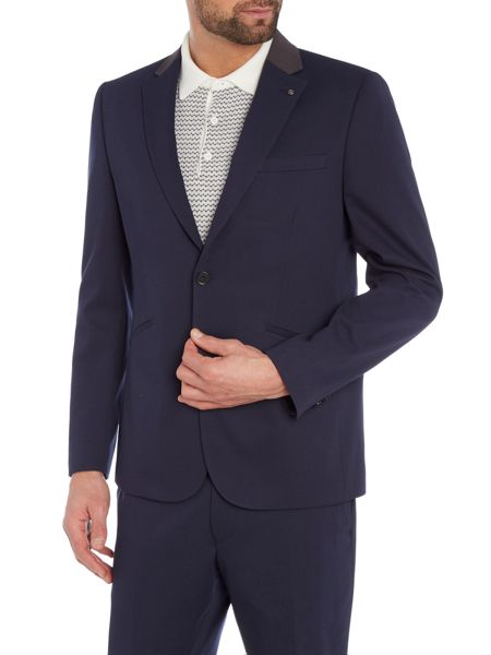 Peter Werth Patrick Welt Pocket Textured Blazer