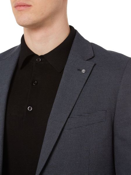 Peter Werth Bay Micro Houndstooth Blazer