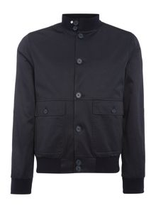 Peter Werth Social Button Through Bomber Jacket
