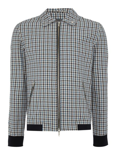 Peter Werth Goodman Check Cotton Blouson Jacket