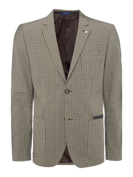 Peter Werth Park Patch Pocket Check Cotton Blazer