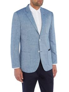 Peter Werth Jones Patch Pocket Linen & Wool Blazer