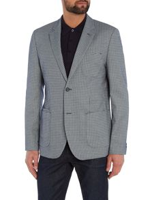 Peter Werth Exhibit Patch Pocket Textured Blazer