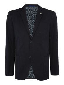 Peter Werth Danby Hodges Pin Dot Patch Pocket Blazer