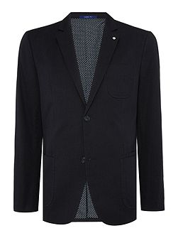 Danby Hodges Pin Dot Patch Pocket Blazer