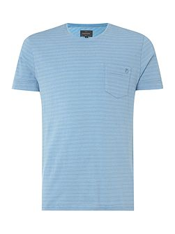 Lazo Striped Cotton T-shirt