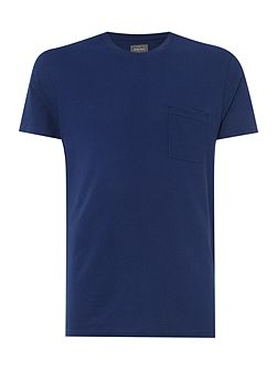 Marlow Pick Stitch Cotton T-shirt