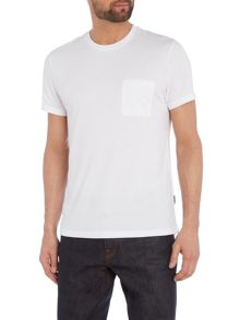Peter Werth Marlow Pick Stitch Cotton T-shirt