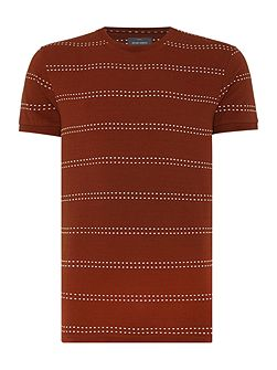 Seymour Dot Stripe Cotton T-shirt