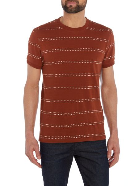 Peter Werth Seymour Dot Stripe Cotton T-shirt