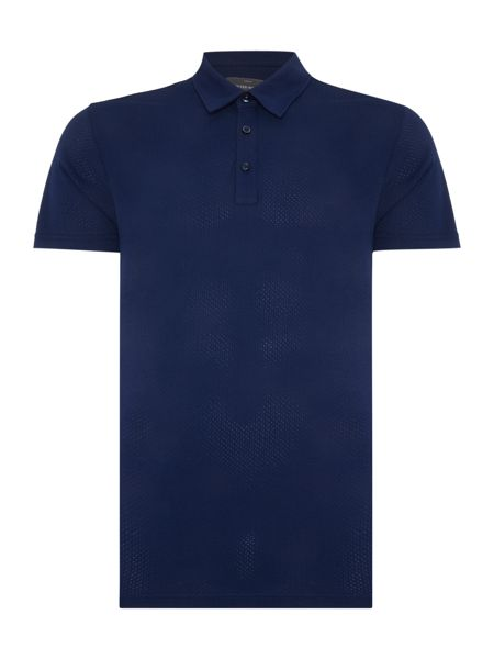 Peter Werth Lindley Pick Stich Cotton Polo Shirt