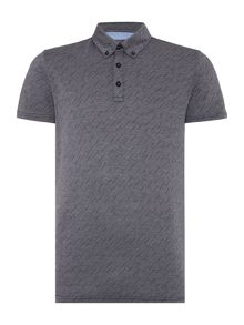 Peter Werth Reed Colour Rain Cotton Polo Shirt