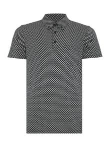 Peter Werth Vacation Printed Cotton Polo Shirt