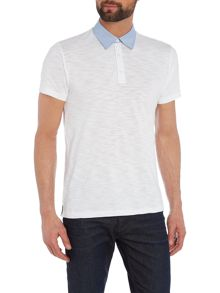 Peter Werth Drift End On End Cotton Polo Shirt