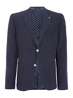 Teller Patch Pocket Cotton Blazer