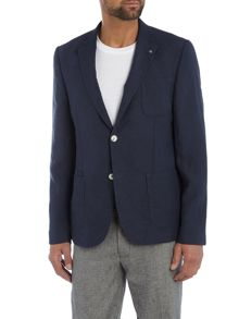 Peter Werth Teller Patch Pocket Cotton Blazer