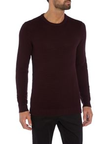Peter Werth Aileron Textured Cotton Crew Neck