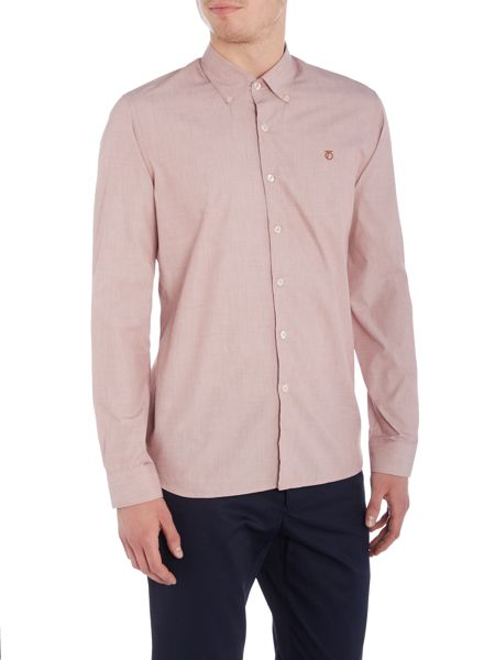 Peter Werth Ellington Turner End-On-End Cotton Shirt