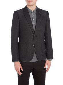 Peter Werth Pilot Herringbone Cut & Sew Blazer