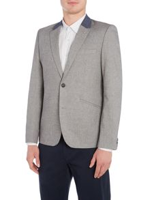 Peter Werth Patrol Cotton Mix Herringbone Blazer