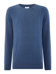 Peter Werth Bryson Fine Knitted Cotton Crew Neck