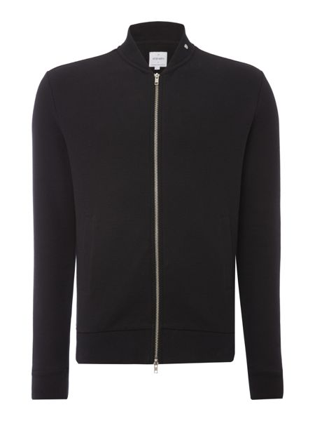 Peter Werth Hustler Textured Jersey Zip Bomber