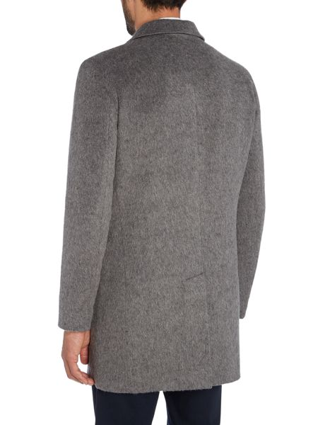 Peter Werth Cropley Denver Wool & Mohair Mix Topcoat