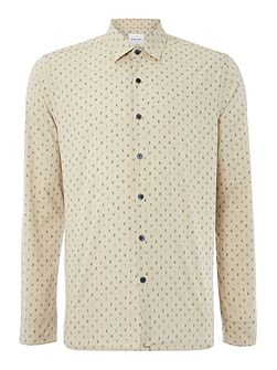 Bembridge Micro Leaf Cotton Shirt