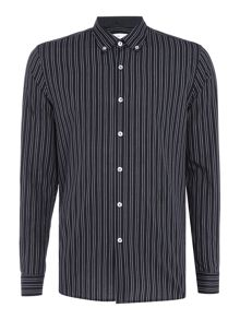 Peter Werth Guide Twin Stripe Cotton Shirt