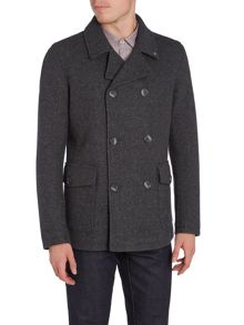 Peter Werth Eastern Jet Chunky Weave Reefer Jacket