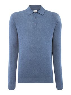 Hemingford Monro Knitted Polo Shirt