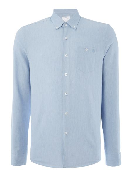 Peter Werth Webster Herringbone Cotton Shirt
