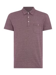 Peter Werth Cassady Jersey Herringbone Polo Shirt