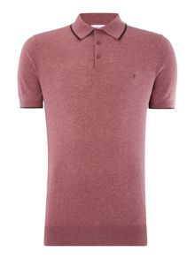 Peter Werth Bernwell Short Sleeved Cotton Polo Shirt