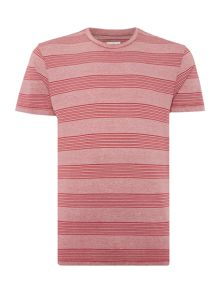 Peter Werth Herbert Two Colour Blended Stripe