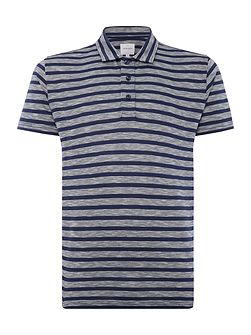 Legacy Twin Stripe Jersey Polo Shirt