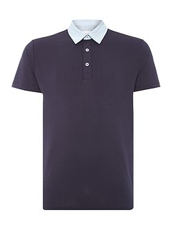 Lucien Polo Shirt With Printed Collar