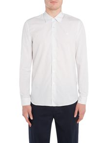 Peter Werth Trip Fine Grid Check Cotton Shirt
