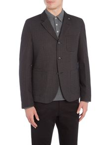 Peter Werth Stoker Dogtooth Cotton Workwear Blazer