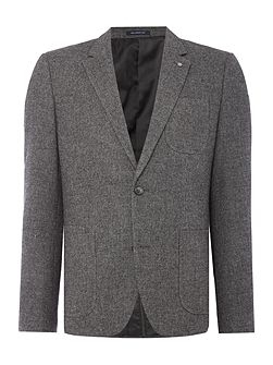 Aston Textured Wool Mix Blazer