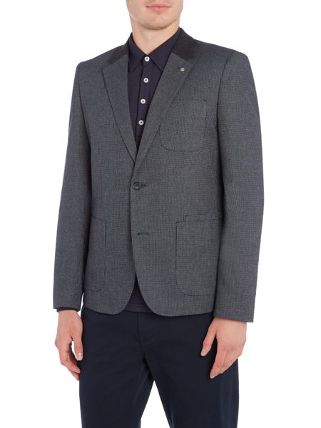 Peter Werth Charter Textured Cotton Mix Blazer