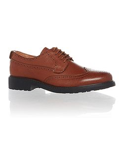 Oldman Full Grain Leather Brogue