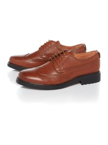 Peter Werth Oldman Full Grain Leather Brogue