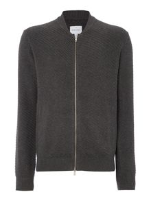Peter Werth Carr Chunky Cotton Zip Through Bomber