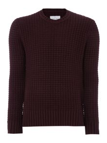 Peter Werth Davis Chunky Knitted Cotton Crew Neck