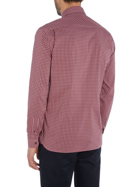 Peter Werth Pearson Gingham Stretch Cotton Shirt