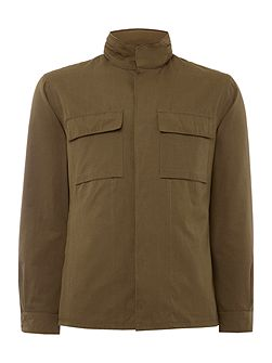 Curtis Field Jacket With Stowaway Hood