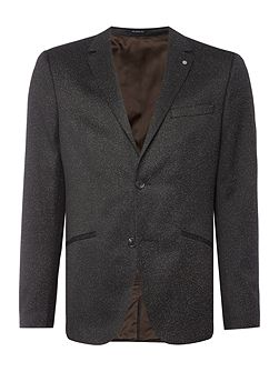 Saul Fleck Jersey Two Button Blazer